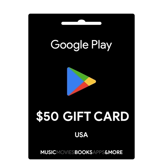 Google Play Gift Card Buy or Recharge Online USA 50$ - Google Play Codes @OfficialReseller.com in India