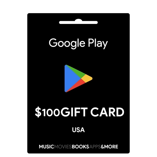 Google Play Gift Card Buy or Recharge Online USA 100$ - Google Play Codes @OfficialReseller.com in India
