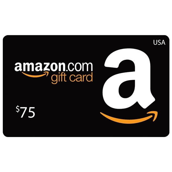 Amazon Gift Card Buy or Recharge Online USA 75$ - Amazon Gift Card Codes @OfficialReseller.com in India