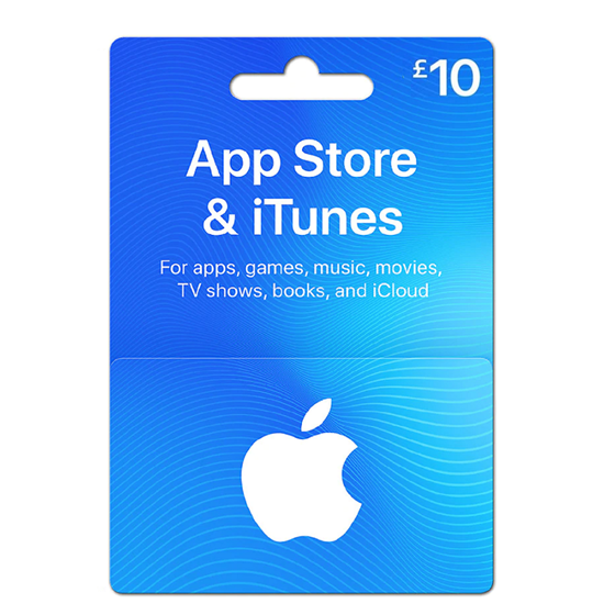 Buy iTunes Gift Card - UK 10£ (India): OfficialReseller.com: Gift Cards pay in Indian Rupees get UK 10£ worth of iTunes gift card