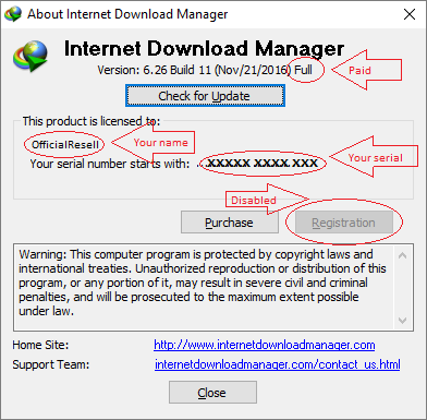 internet download manager serial key windows 7