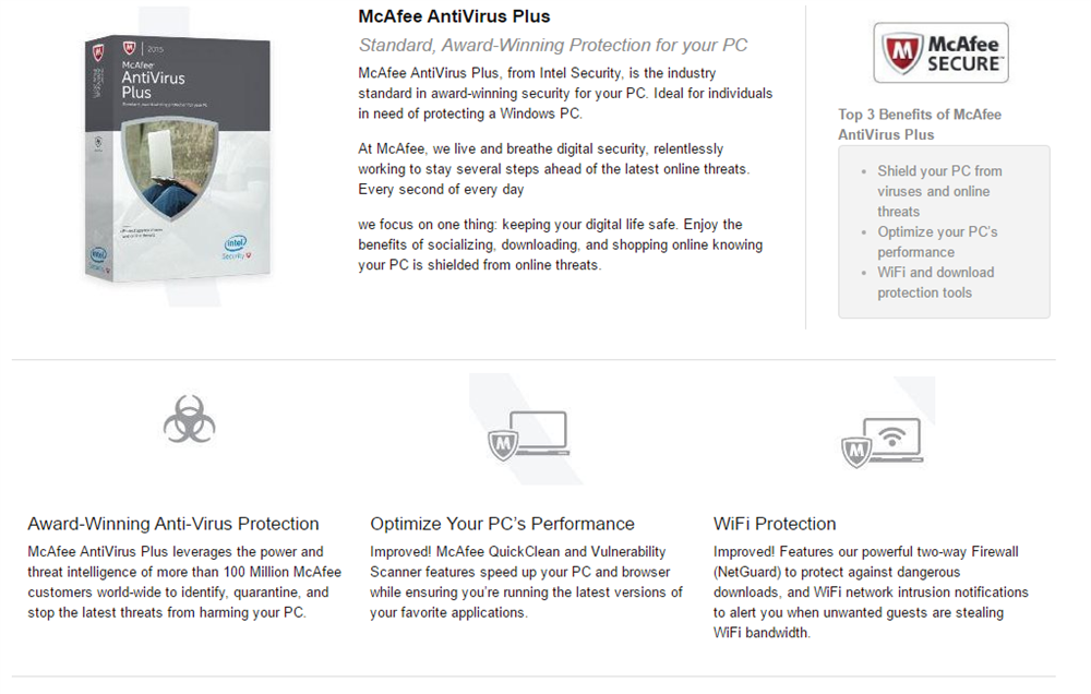 mcafee antivirus product key 2015