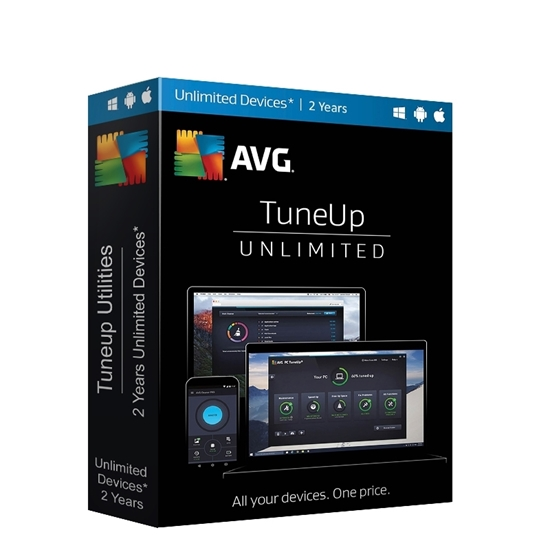 Buy  AVG TuneUp 2 Years Unlimited Devices License Online In India