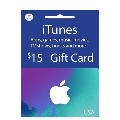 Buy iTunes Gift Card - USD 15$ (India): OfficialReseller.com: Gift Cards pay in Indian Rupees get 15$ worth of iTunes gift card