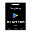 Google Play Gift Card Buy or Recharge Online USA 25$ - Google Play Codes @OfficialReseller.com in India