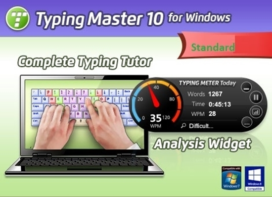 Typing Master 10 Standard English Life-Time License