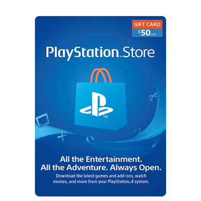 Buy PSN Gift Card - USD 50$ (India): OfficialReseller.com: Gift Cards pay in Indian Rupees get 50$ worth of PSN gift card