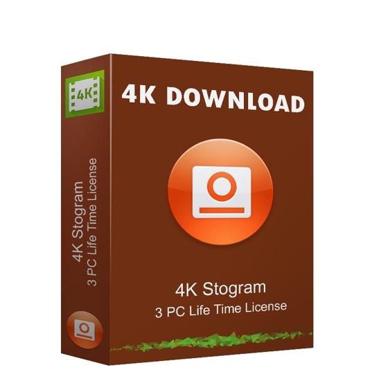 Buy 4K Stogram 3 PC Life Time India